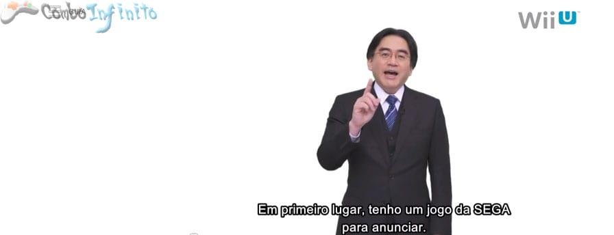 Iwata lendo em inglês é uma das partes mais divertidas do vídeo =D