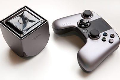 Imagem do console Ouya